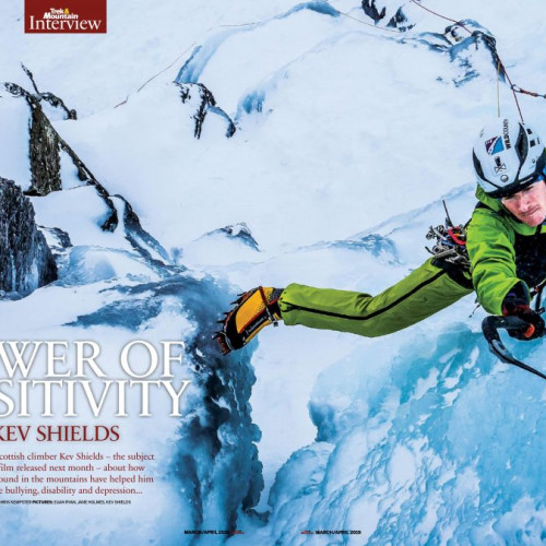 Kev Shields – Rab Athlete, Rock and Ice Climber, integral part of the Ice Factor Team