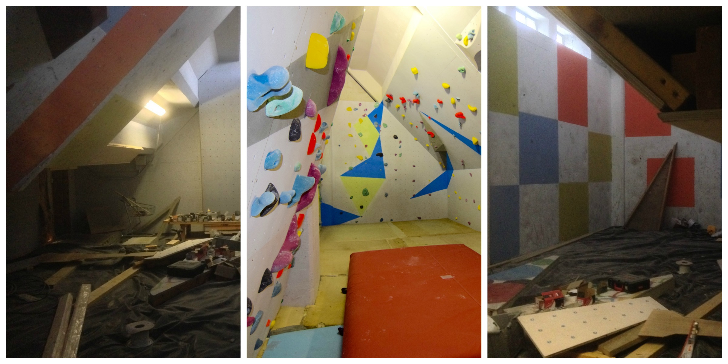 Bouldering Collage