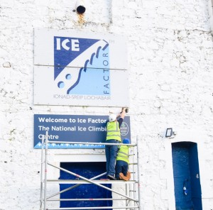 the national ice climbing centre rides again!