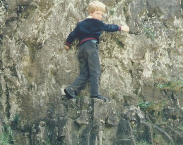 Kev has been climbing since he was walking