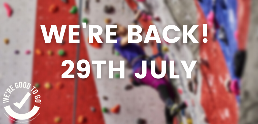 ice factor reopens 29th july 2021